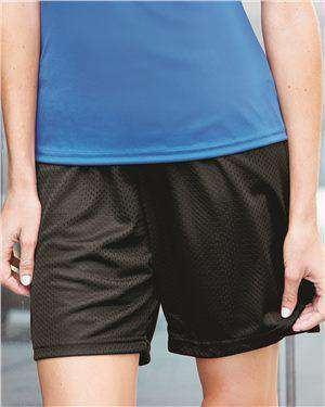 Brand: Badger | Style: 7216 | Product: Pro Mesh Women's 5'' Inseam Shorts