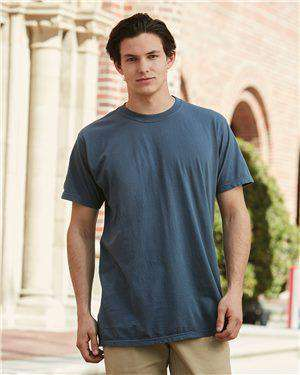 Brand: Comfort Colors | Style: 4017 | Product: Garment Dyed Lightweight Ringspun Short Sleeve T-Shirt