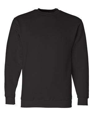 Bayside Men's USA-Made Set-In Sleeve Sweatshirt