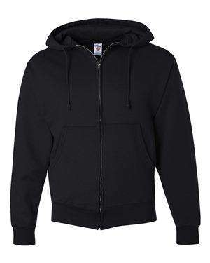Jerzees Men's Super Sweats Full-Zip Hoodie Sweatshirt - 4999MR