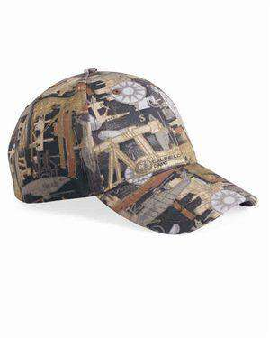 Brand: Kati | Style: OIL15 | Product: Structured Oilfield Camo Cap