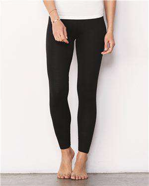 Brand: Bella + Canvas | Style: 812 | Product: Women's Cotton Spandex Leggings