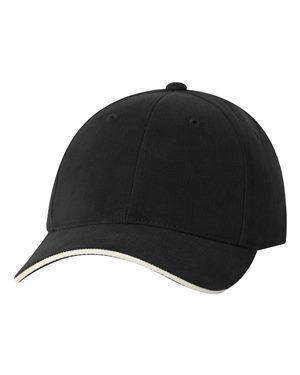 Sportsman Sandwich Brushed Twill Cap