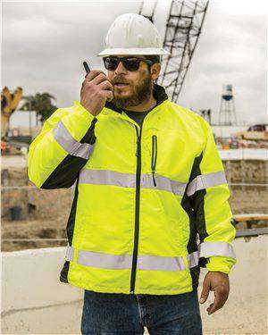 Brand: ML Kishigo | Style: WB100-101 | Product: Black Series Windbreaker