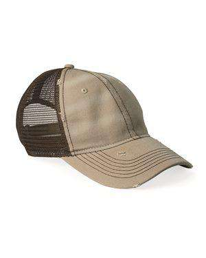Brand: Sportsman | Style: 3150 | Product: Dirty-Washed Mesh Cap