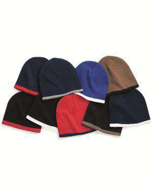 Brand: Sportsman | Style: SP09 | Product: Bottom Striped Knit Beanie