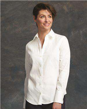 Brand: Calvin Klein | Style: 13CK028 | Product: Women's Pure Finish Cotton Shirt