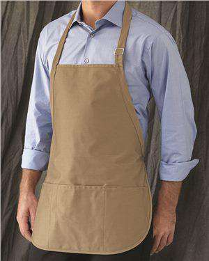 Brand: Liberty Bags | Style: 5507 | Product: Adjustable Neck Strap Three Pocket Apron