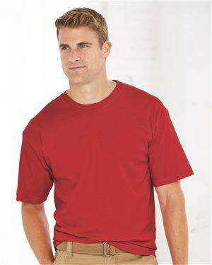 Brand: Bayside | Style: 5040 | Product: USA-Made 100% Cotton Short Sleeve T-Shirt