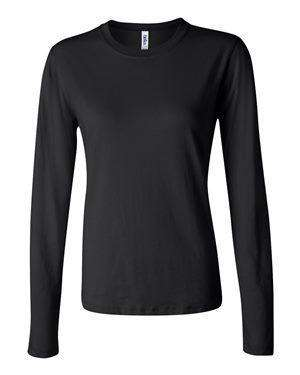 Bella + Canvas Women's Long Sleeve Jersey T-Shirt