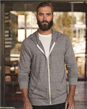 Brand: Alternative | Style: 1970e1 | Product: Eco-Jersey™ Hooded Full-Zip