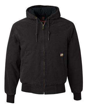 Dri Duck Men's Cheyenne Hoodie Canvas Jacket - 5020