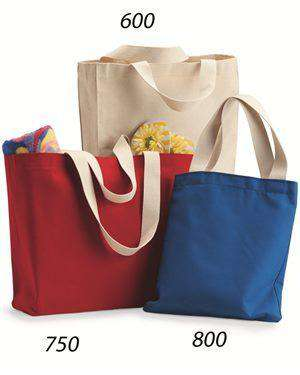 Brand: Bayside | Style: 750 | Product: USA-Made Medium Gusset Tote