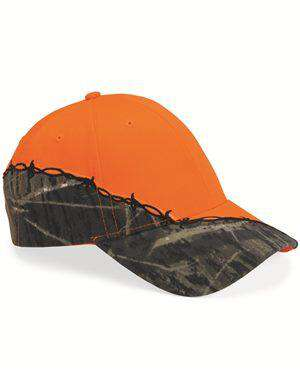 Brand: Kati | Style: LC4BW | Product: Licensed Camo Cap with Barbed Wire Embroidery