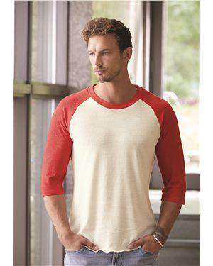 Brand: Alternative | Style: 2089e1 | Product: Eco-Jersey™ Baseball Raglan T-Shirt