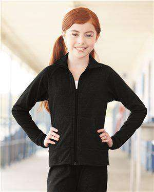 Brand: Boxercraft | Style: S89Y | Product: Girls' Practice Jacket