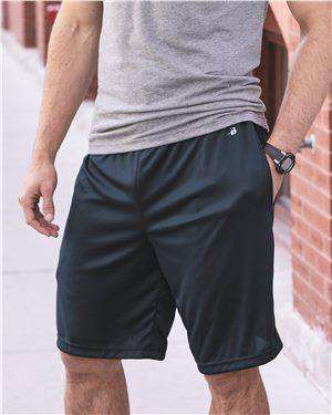 Brand: Badger | Style: 4119 | Product: B-Core Pocketed Shorts