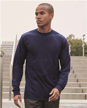 Brand: JERZEES | Style: 21MLR | Product: Dri-Power Sport Long Sleeve T-Shirt