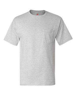 Hanes Men's Tagless® Pocket T-Shirt