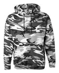 Code Five Men's Pouch Camo Hoodie Sweatshirt