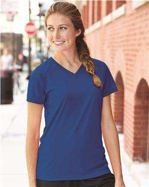 Brand: Badger | Style: 4162 | Product: B-Core Women's V-Neck Tee