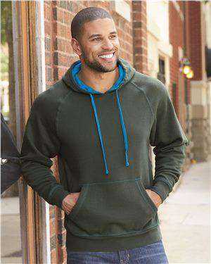 Brand: J. America | Style: 8883 | Product: Shadow Fleece Hooded Pullover Sweatshirt