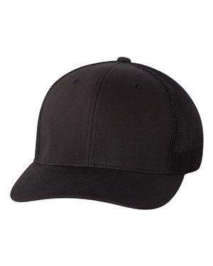 Flexfit Structured Sewn Eyelet Trucker Cap - 6511