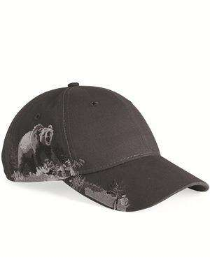 Brand: DRI DUCK | Style: 3319 | Product: Grizzly Bear Cap