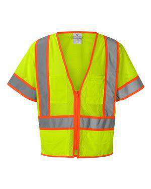 ML Kishigo Men's Ultra-Cool™ Surveyor Safety Vest - 1243