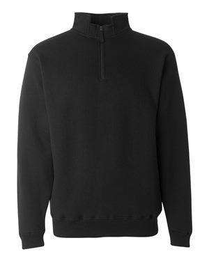 J America Men's Notched Collar 1/4-Zip Sweatshirt - 8634
