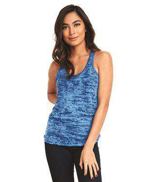 Brand: Next Level | Style: 6533 | Product: Women's Burnout Racerback Tank