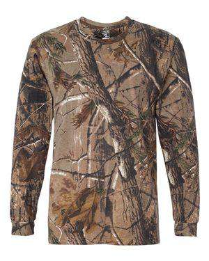 Code Five Men's Long Sleeve Realtree® Camo T-Shirt
