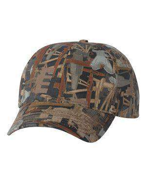 Kati Structured Oilfield Camouflage Cap - OIL15