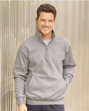 Brand: Champion | Style: S400 | Product: Double Dry Eco 1/4 Zip Pullover