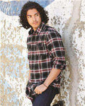 Brand: Burnside | Style: 8210 | Product: Yarn-Dyed Long Sleeve Flannel Shirt