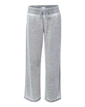 J America Women's Raw Edge Seam Sweatpants