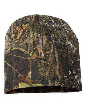 Outdoor Cap Black Lining Camouflage Beanie