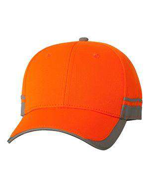 Outdoor Cap Reflective Low-Profile Safety Cap