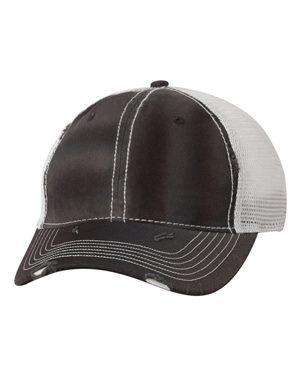 Sportsman Dirty-Washed Mesh Trucker Cap