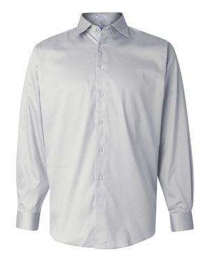 Calvin Klein Men's French Placket Stretch Dress Shirt