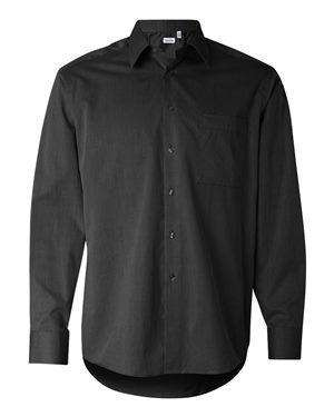 Calvin Klein Men's Herringbone Dress Shirt
