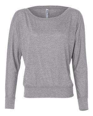 Bella + Canvas Women's Flowy Dolman Long Sleeve T-Shirt