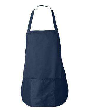 Liberty Bags Sara Three-Pocket Twill Bib Apron - 5507