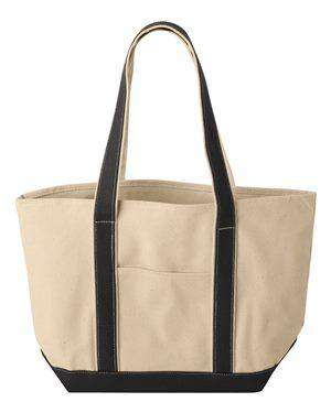 Liberty Bags Large Canvas Boat Tote Bag