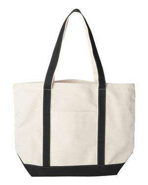 Liberty Bags Carmel XL Canvas Boat Tote Bag