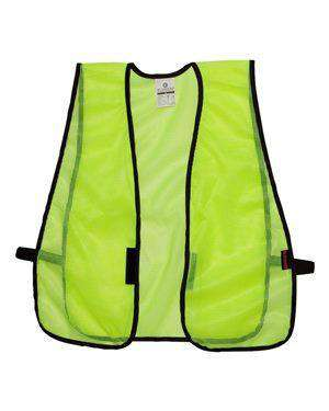 ML Kishigo Men's P-Series Mesh Safety Vest - V18