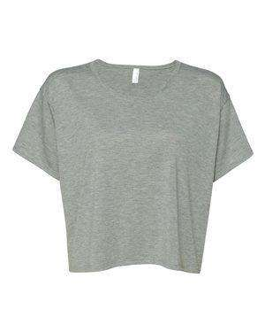 Bella + Canvas Women's Flowy Boxy Cropped T-Shirt - 8881