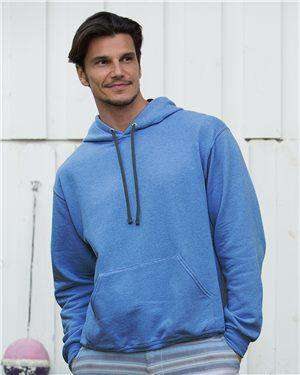 Brand: Fruit of the Loom | Style: SF76R | Product: Sofspun Hooded Pullover Sweatshirt