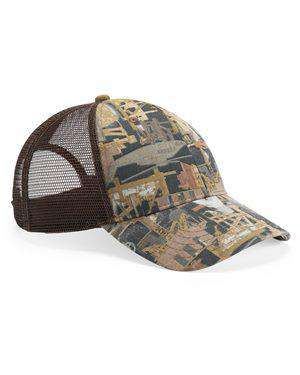 Brand: Kati | Style: OIL5M | Product: Oil Field Camo Cap With Mesh Back