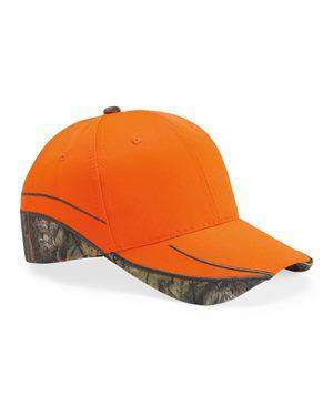 Brand: Outdoor Cap | Style: BLZ615 | Product: Blaze Cap With Camo Trim